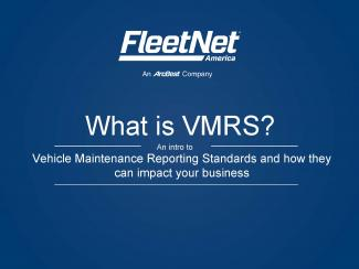 What is VMRS?